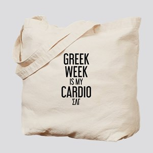 Sigma Lambda Gamma Greek Week Tote Bag