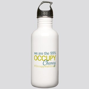 Occupy Cheney Stainless Water Bottle 1.0L
