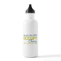 Occupy Cheney Water Bottle