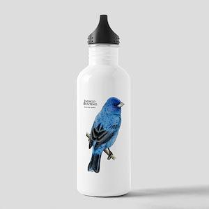 Indigo Bunting Stainless Water Bottle 1.0L