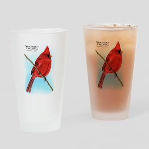 Northern Cardinal Drinking Glass