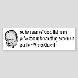 Churchill Sticker (Bumper)