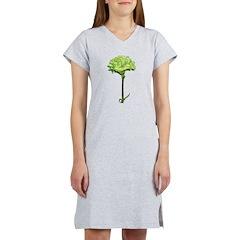 Green Carnation Women's Nightshirt