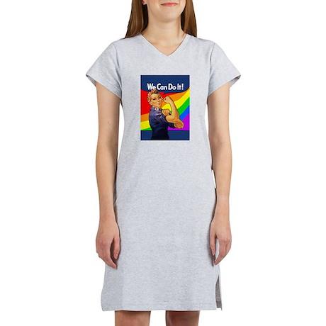 Rainbow Rosie Women's Nightshirt
