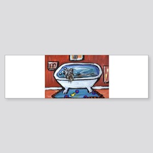 BOUVIER bath Bumper Sticker