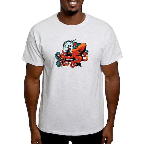 Unicorns vs Squids Light T-Shirt