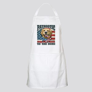 Patriotic - Golden Retriever Apron