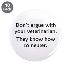 Don't Argue With Your Vet 3.5