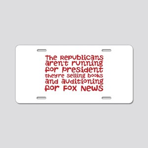 Republican Audition Aluminum License Plate