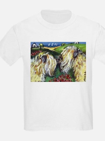 wheatie sniffs wheatie Kids T-Shirt