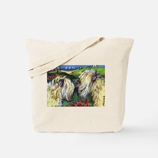 wheatie sniffs wheatie Tote Bag