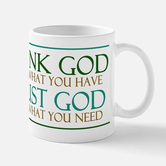 Thank God - Trust God Mug