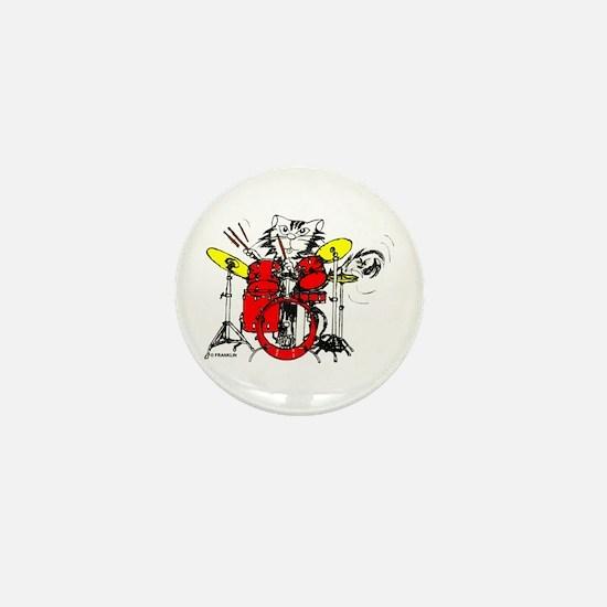 WILDCAT DRUMMER™ Mini Button