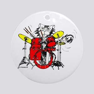 WILDCAT DRUMMER™ Ornament (Round)