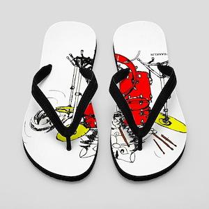 WILDCAT DRUMMER™ Flip Flops