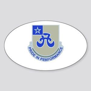 DUI - 308th Bde - Support Bn Sticker (Oval)