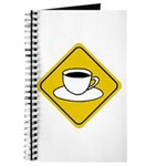 Coffee Crossing Sign Journal