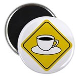 Coffee Crossing Sign Magnet