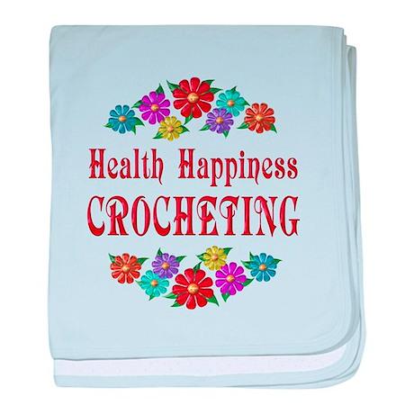 Crocheting Happiness baby blanket