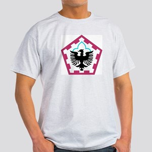 DUI - 555th Engineer Brigade Light T-Shirt