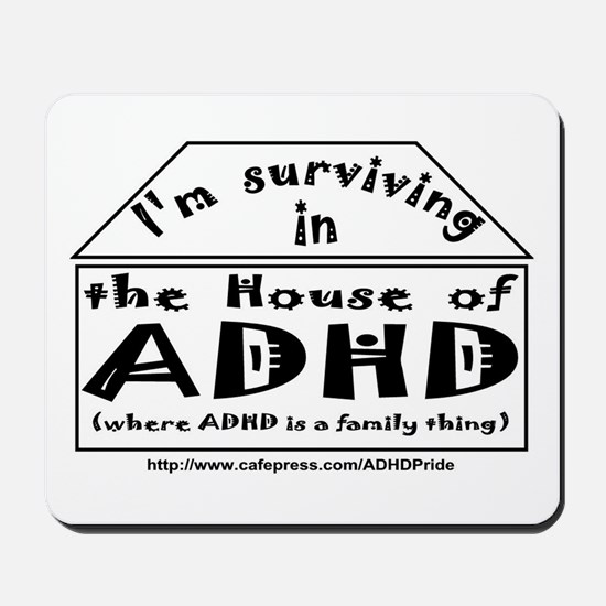 House of ADHD mousepad
