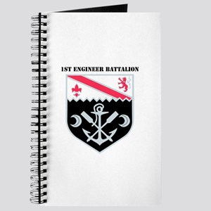 DUI - 1st Engineer Bn with Text Journal