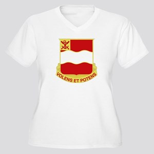 DUI - 4th Engineer Bn Women's Plus Size V-Neck T-S