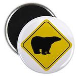 Polar Bear Crossing Magnet