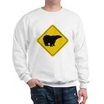 Polar Bear Crossing Sweatshirt