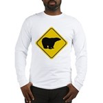 Polar Bear Crossing Long Sleeve T-Shirt