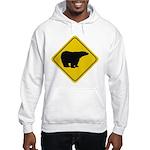 Polar Bear Crossing Hooded Sweatshirt