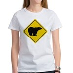 Polar Bear Crossing Women's T-Shirt