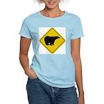 Polar Bear Crossing Women's Light T-Shirt