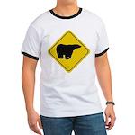 Polar Bear Crossing Ringer T
