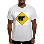 Polar Bear Crossing Light T-Shirt