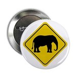Elephant Crossing Sign Button