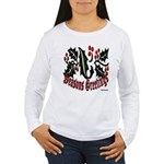 Christmas Holly Women's Long Sleeve T-Shirt