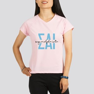 Sigma Alpha Iota Polka Dot Performance Dry T-Shirt