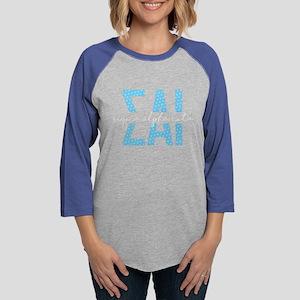 Sigma Alpha Iota Polka Dot Womens Baseball T-Shirt
