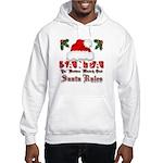 Santa Claus Rules Hooded Sweatshirt