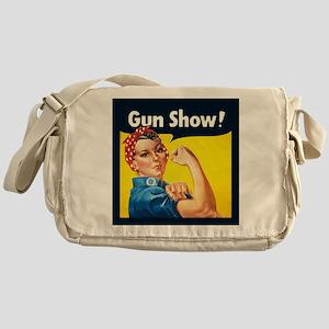 Rosie Riveter Gun Show Messenger Bag