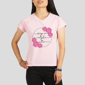 sigma alpha iota floral Performance Dry T-Shirt