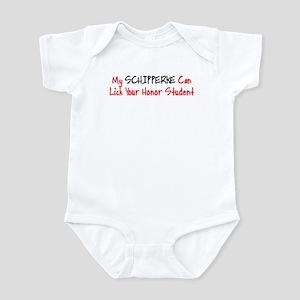 Schipperke HONOR STUDENT Infant Bodysuit