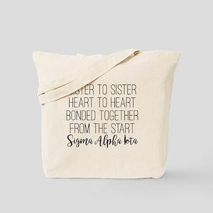 Sigma Alpha Iota Sister to Sister Tote Bag