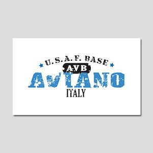 Aviano Air Force Base Car Magnet 20 x 12