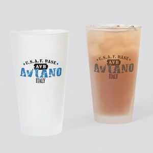 Aviano Air Force Base Drinking Glass