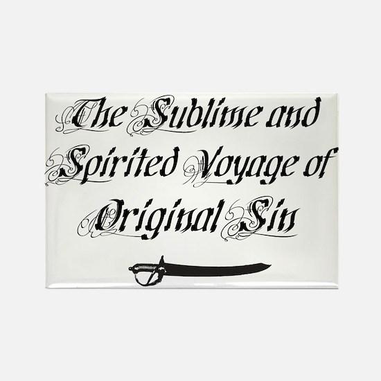 Original Sin Rectangle Magnet