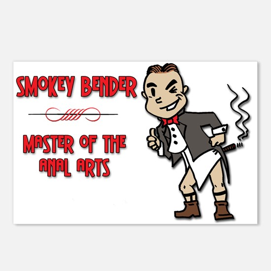 Smokey Bender Postcards (Package of 8)