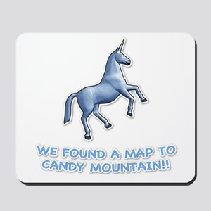 We found a map to Candy Mount Mousepad