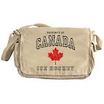 Canada Hockey Messenger Bag